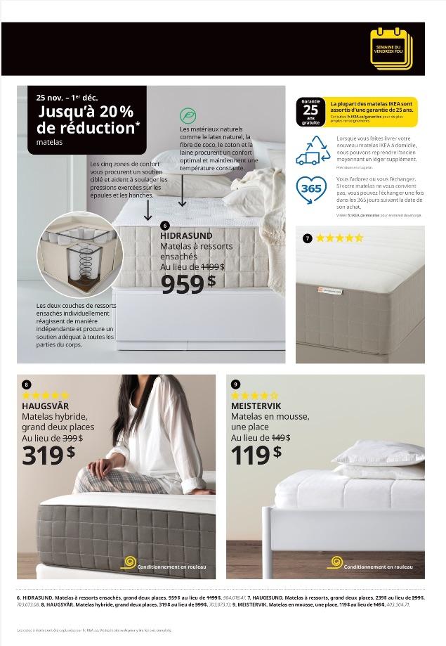 Circulaire Ikea de la semaine du Vendredi Fou
