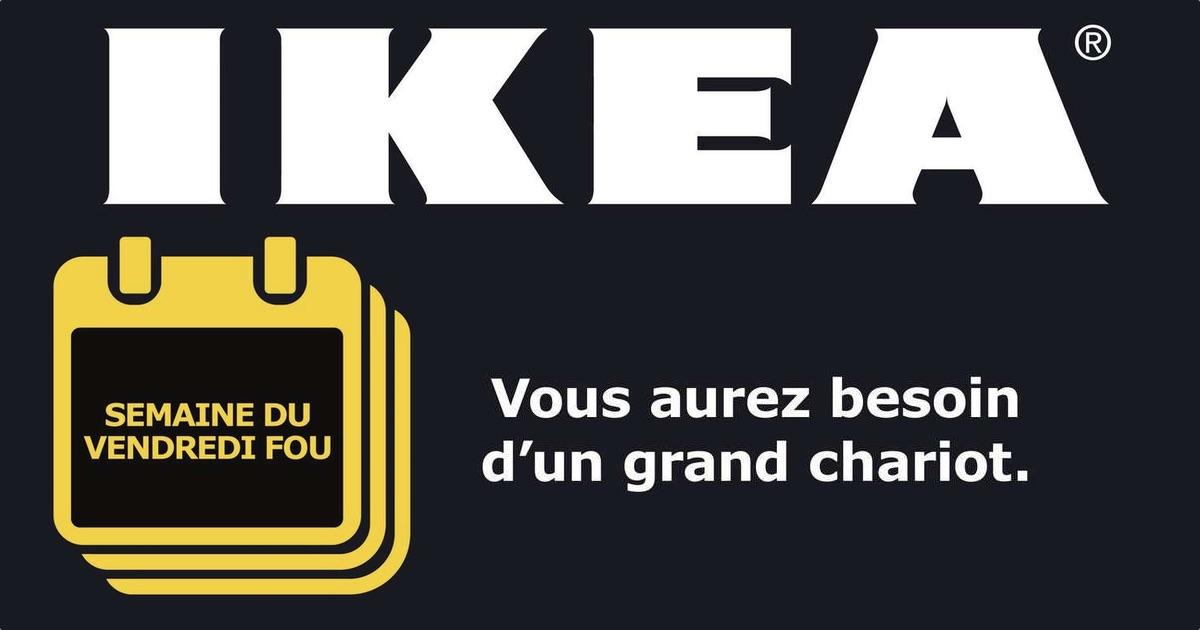 Profitez de la semaine du Vendredi Fou chez Ikea