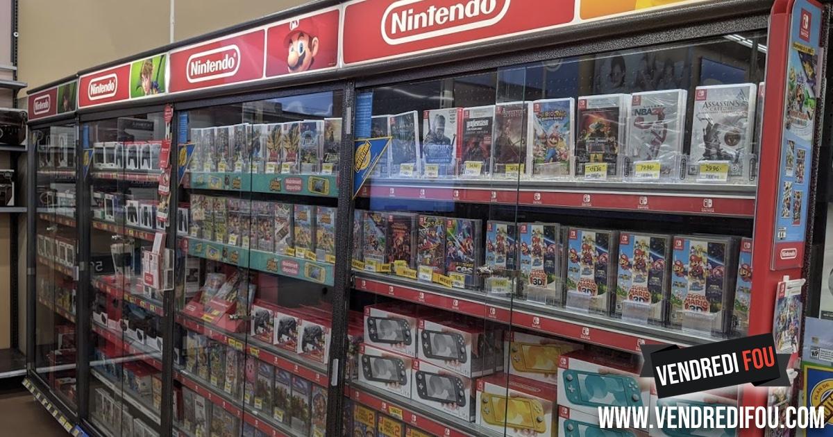 Rabais du Black Friday sur les consoles Nintendo Switch