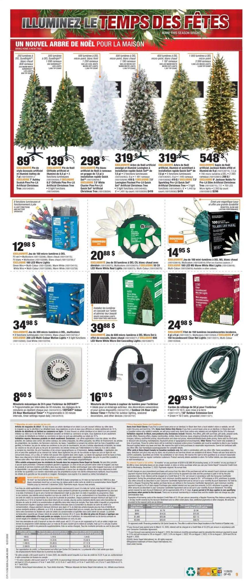 Circulaire des rabais du Vendredi Fou dans le cadre du Black Friday chez Home Depot