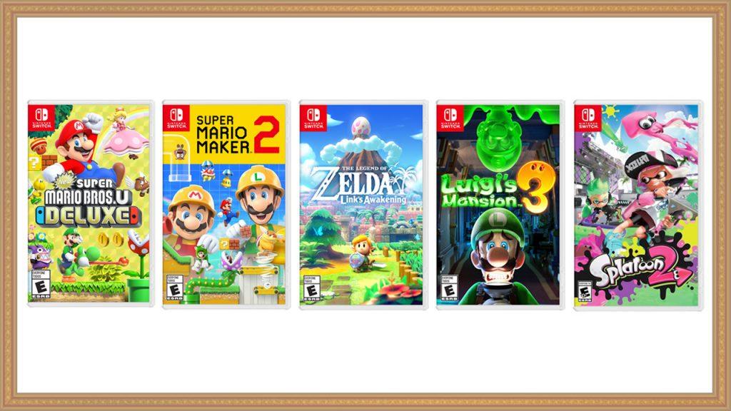 Rabais sur des jeux Nintendo Switch